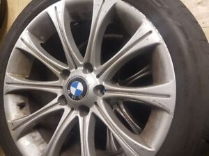 BMW 3 series tires and rims 225/45R17