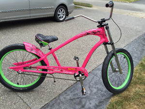 THIS TURNS HEADS - Rat Fink PINK Electra Cruiser. Priced to Move Cambridge Kitchener Area image 2