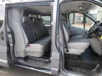 Vauxhall Vivaro 2.0 Sportive 2900 LWB 6 seat crew van / double cab NO VAT (2)