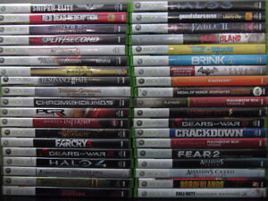 Various XBOX 360 games for $5/game