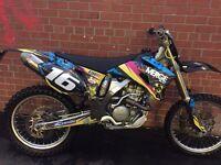 Yamaha yzf 250 road legal
