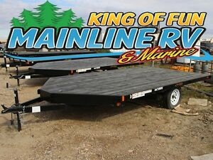 2016 Rainbow Trailers Snowmobile  ATV Trailers Express 212A13E