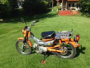 MAKE ME AN OFFER 1974 CT90 HONDA IN VERY GOOD CONDITION