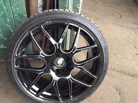 """BMW X3 X5 e90 e91 e92 e46 Range Rover wheels alloys 20"""" 5X120"""