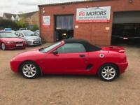 2001 MG/ MGF MGF 1.6i Red Sports Cabriolet, **ANY PX WELCOME**