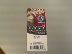 Hockey Hall of Fame - general admission tickets