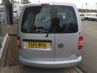 2014 Volkswagen CADDY C20 TDI TRENDLINE KOMBI VAN *5 SEATER* Manual Crew Van