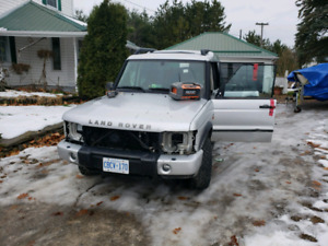 2004 land rover discovery 2 part out