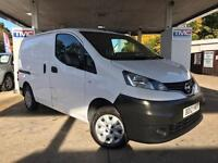2012 Nissan NV200 1.5 dCi SE 5dr PANELVAN in WHITE