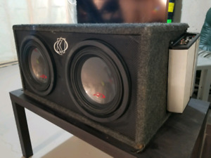 Alpine Type R subs and JL amp in ported box