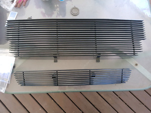 Brand new top and bottom grilles