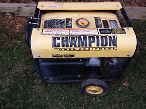 Génératrice Champion 3500W - Power Generator Used Was Working West Island Greater Montréal image 2