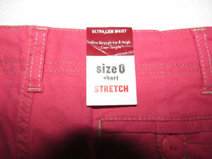 OLD NAVY Pink Stretch Capris Pants - Size 0 - NEW Gatineau Ottawa / Gatineau Area image 8