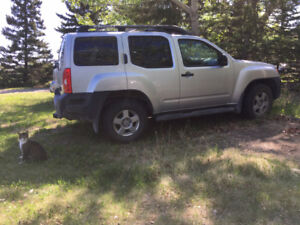 4x4 Nissan XTerra with Hitch