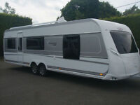BRAND NEW 2017 LMC 695 VIP EXQUISIT,5 BERTH,FIXED ISLAND BED CARAVAN