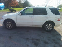 **$5500 OBO** 2002 Mercedes-Benz ML500 SUV--4 NEW TIRES!!