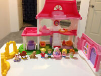 Gently Used Little People House set