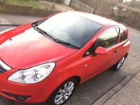 60 REG CORSA WITH LOW MILES FOR SALE! £30 TAX (no vauxhall astra vxr focus fiesta golf polo a1 a3 ka