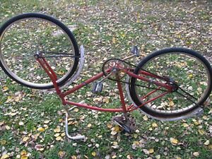Sears Special Red boys/ mens bike 26X1.5 inch wheel
