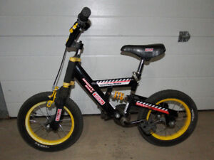 "Kids Tonka Full Suspension Bike with 14"" wheels"
