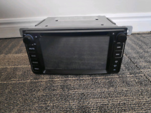 Subaru oem replacement double din headunit stereo
