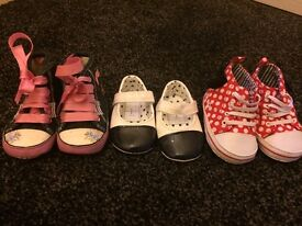 Baby girl pram shoes