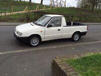 Skoda Felicia pickup 1.3 petrol long MOT has Mk2 GTI 16v Alloys like the VW caddy pick up