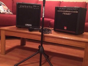 Amps, accessories