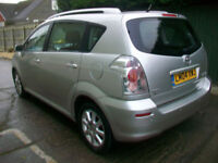 Toyota Verso 1.8 ( 127bhp ) MMT T Spirit 7 seater AUTO ...LOW MILEAGE