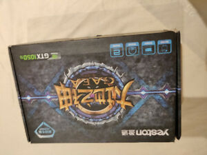 Yeston GAEA NVIDIA GTX 1050 TI 4 GB NEW