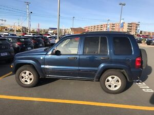 2004 Jeep Liberty Limited Edition with new Trans