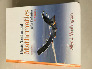 Basic technical mathematics with calculus kijiji in ontario buy basic technical mathematics with calculus hardcover si version fandeluxe Gallery