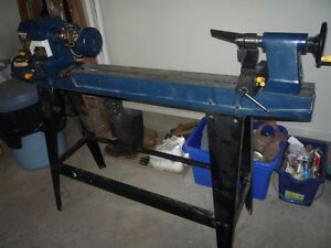 "WOOD LATHE with approx. 30"" to 31"" bed length"
