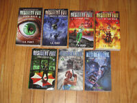 Resident Evil by S.D. Perry complete set 7 books #0 - #6