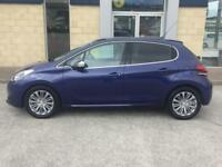 2017 Peugeot 208 1.6 BLUE HDI 75 Allure Manual Hatchback