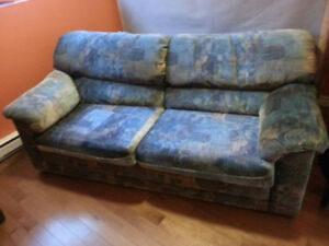 Free Pull Out Couch Must Be Picked Up Located In Dartmouth