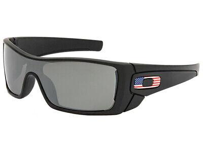 Oakley Batwolf USA Country Flag Sunglasses OO9101-31 Matte Black/Black (Country Sunglasses)