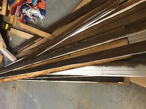 Solid wood trim