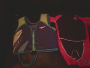 Selling kids gently used lifejacket vest and floatation device.