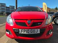 2010 10 VAUXHALL CORSA 1.6T VXR RACING EDITION GOOD AND BAD CREDIT CAR FINANCE