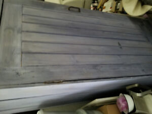 chimney cuboard purple excellent condition