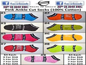 Pink Socks (100% Cotton)