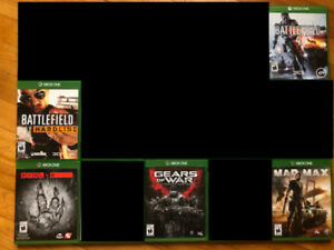 Lots of Xbox One games for sale