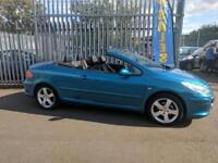 Peugeot 307 CC 2.0 16v ( 140bhp ) Coupe Cabrio Sport
