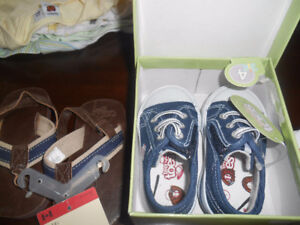2 pairs shoes new 3.00 each baby shoes boys