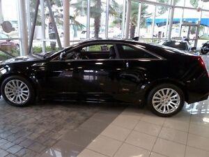 2011 Cadillac CTS Black Coupe (2 door) Edmonton Edmonton Area image 2