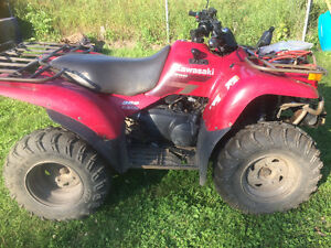 Lady Driven 2003 kvf 360 WITH PLOW