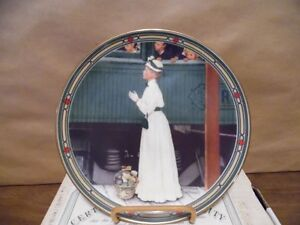 Norman Rockwell Plate ( A Mother's Welcome)