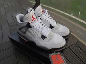 VNDS Nike Air Jordan White Cement 4s IV in sz 12 2012 308497 103