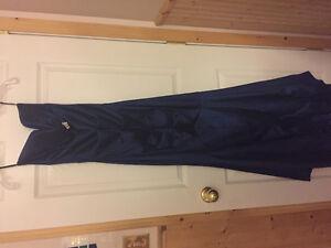 BEAUTIFUL ROYAL BLUE GRAD DRESS
